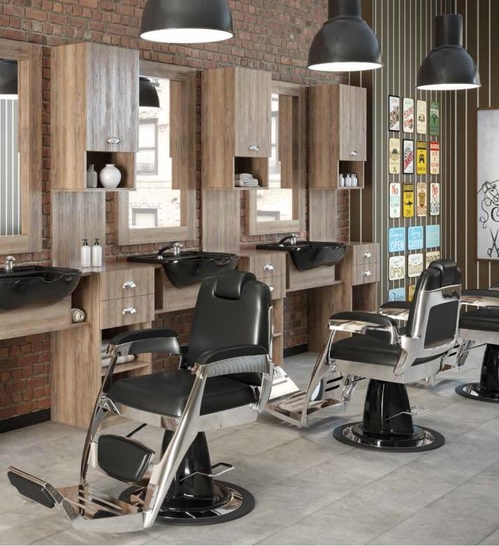 arredamento per barber shop
